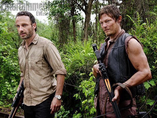 The Walking Dead Un Mare Di Foto In Anteprima The Walking Dead Daryl Dixon Copertina