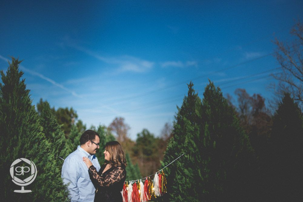 Winter Engagement session in Uptown Charlotte, NC. featuring ...