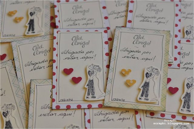 Casamento da Gabi (Agradecimento aos convidados)