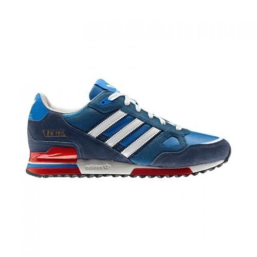 adidas originals mens zx 750 trainers bluebird/white/dark slate