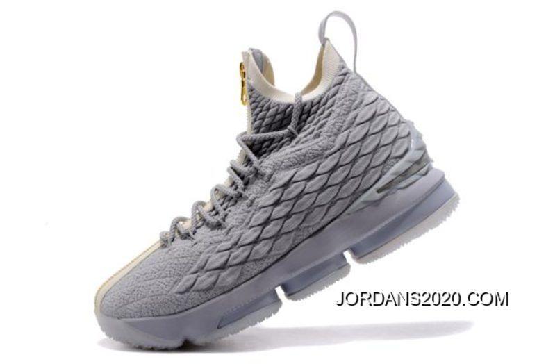 2645ac2f4a535 KITH x Nike LeBron 15 SVSM Dark Green Gold-White Mens Basketball ...