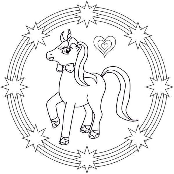 Unicornios: Mandalas y Zentangles con Pegasus para