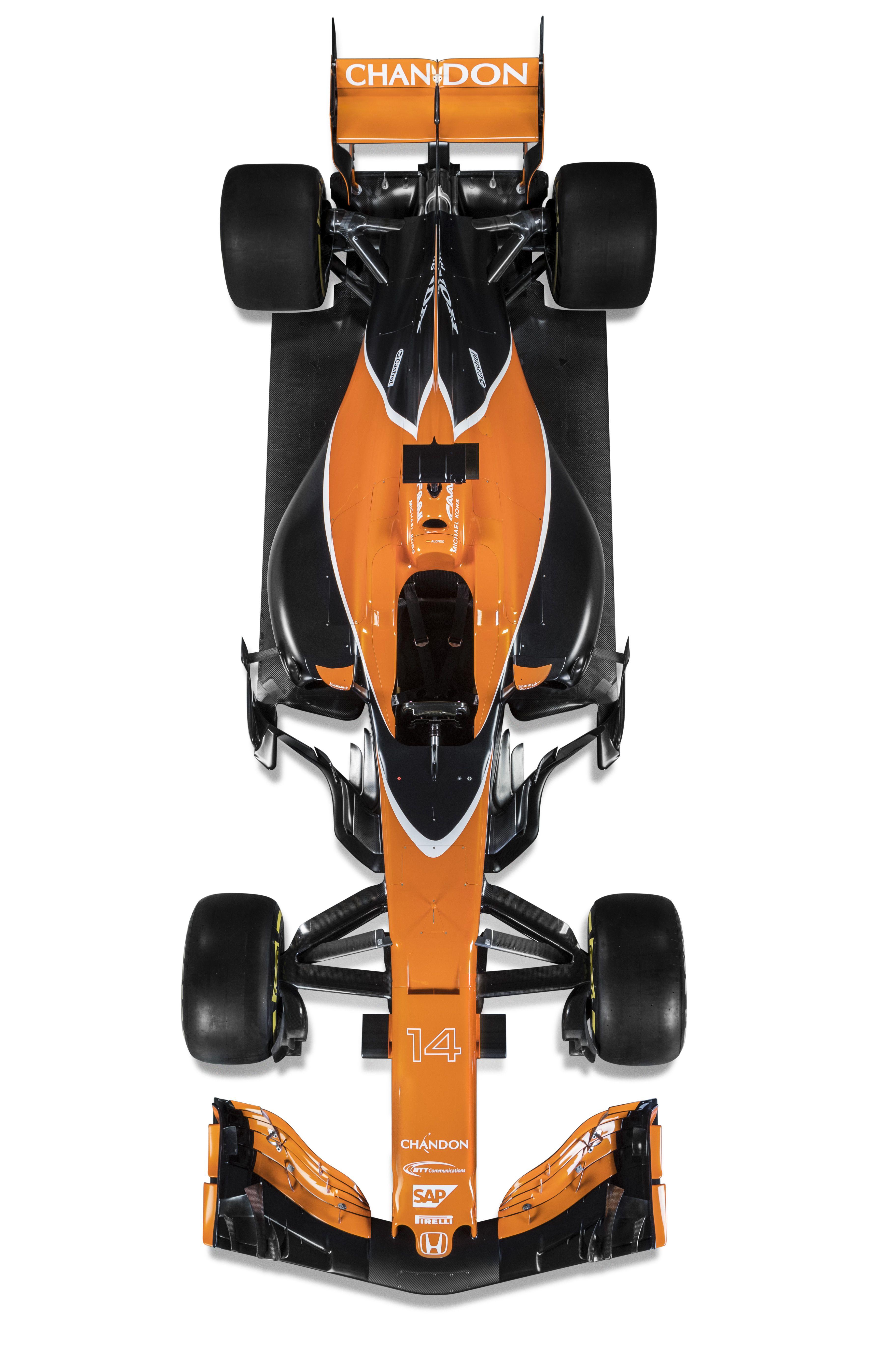 The McLaren-Honda MCL32