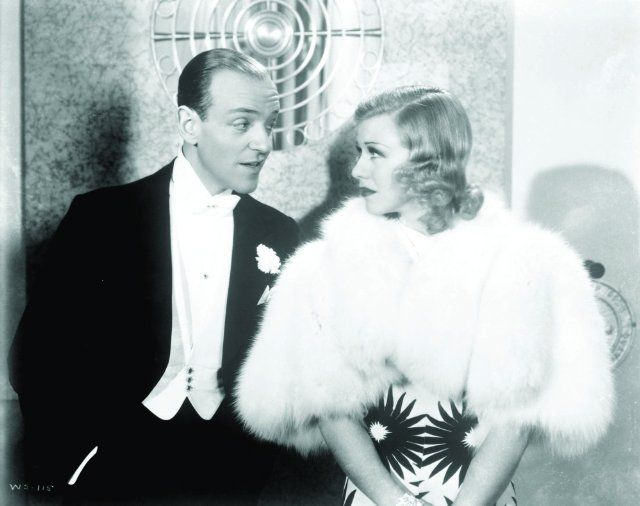Still of Fred Astaire and Ginger Rogers