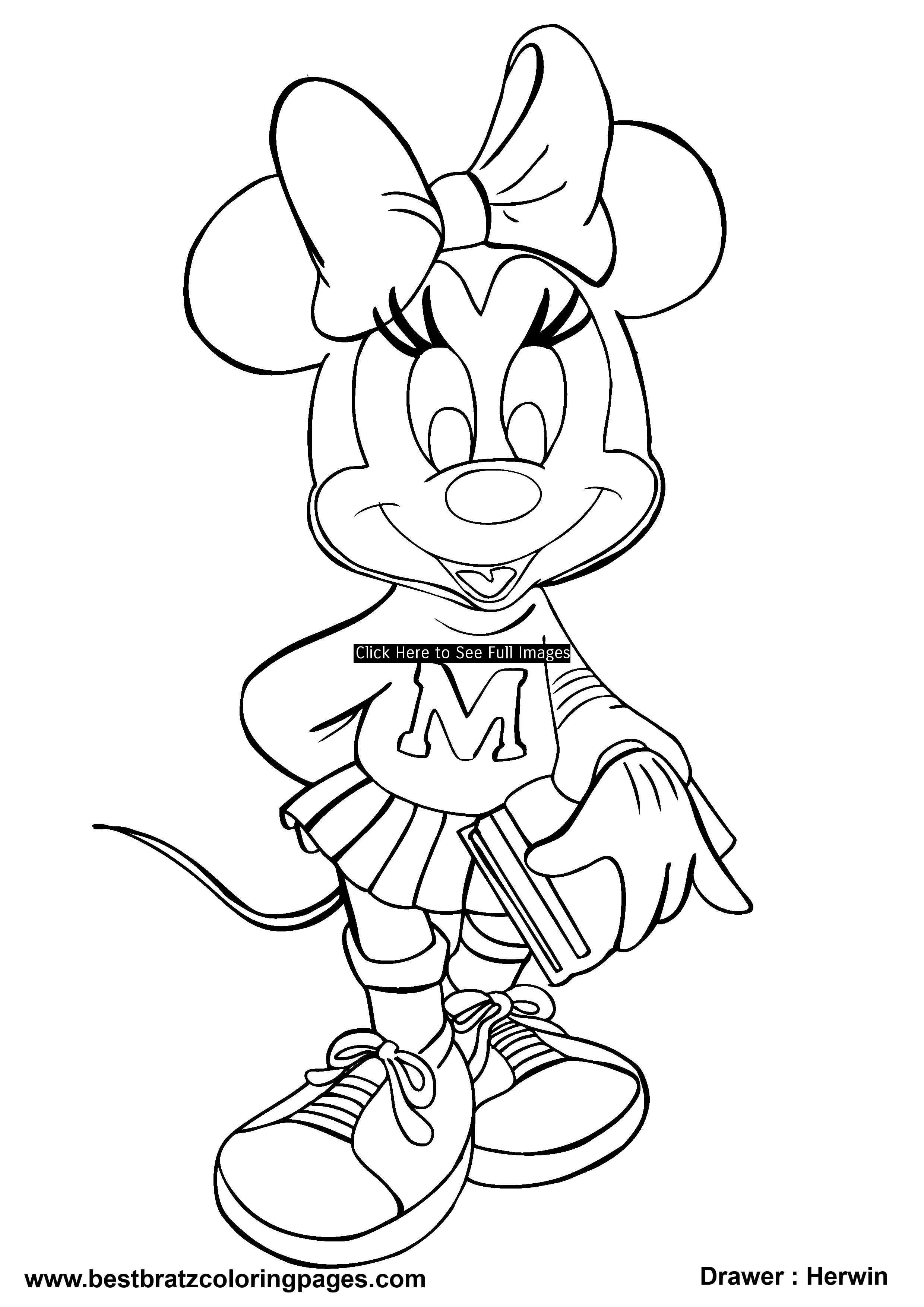 Bratz Halloween Coloring Pages Free Large Images Disney Coloring Pages Minnie Mouse Coloring Pages Mickey Mouse Coloring Pages