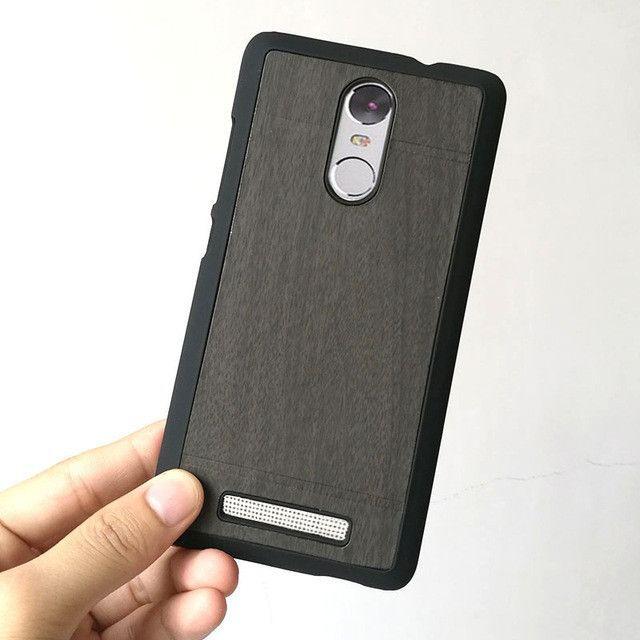 YueTuo original luxury hard case for xiaomi redmi note3 coque redmi note 3 pro prime phone cover shell wood back wooden grain