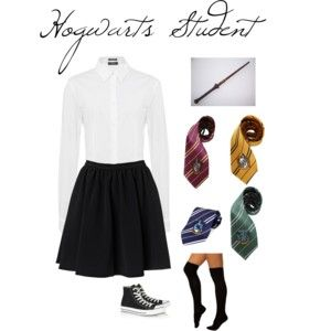 Costume 20 Hogwarts Student Clothes Harry Potter Costume Fandom Fashion