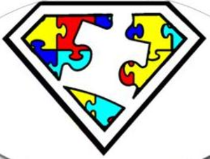 autism is a superpower clip art awesometism room pinterest rh pinterest co uk