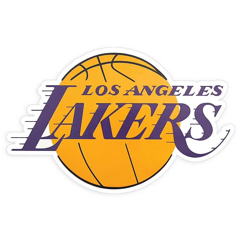 Nba Los Angeles Lakers Logo Outdoor Decal Bed Bath Beyond Los Angeles Lakers Logo Lakers Logo Los Angeles Lakers [ 956 x 956 Pixel ]