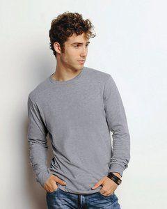 Canvas Mens 4.2 oz. Long-Sleeve Jersey T-Shirt - 3501