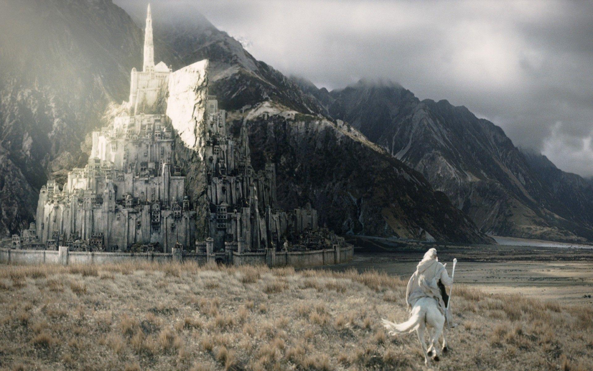 Minas Tirith El Señor De Los Anillos Anillos Y Arquitectos