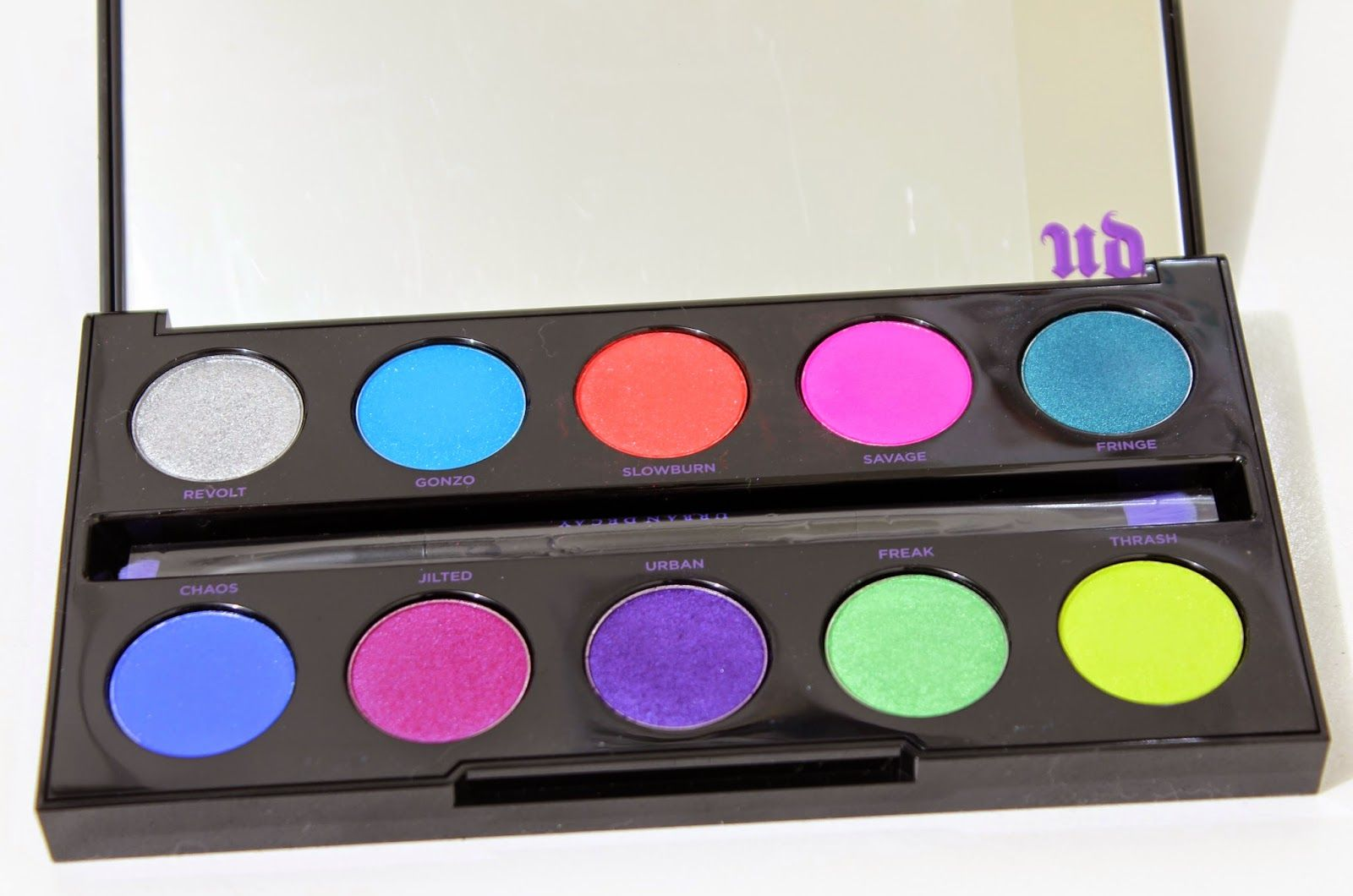 Resenha: Electric Pressed Pigment Palette Urban Decay