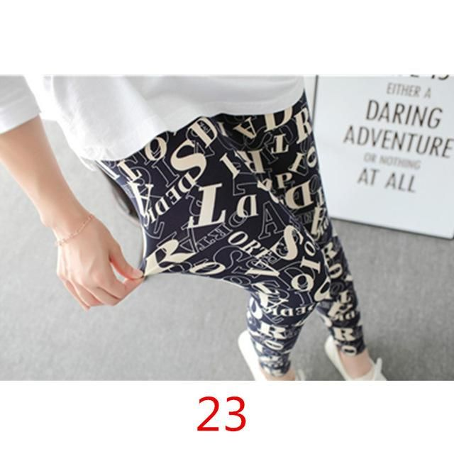 2017 New Flower Printed Leggings Fashion Sexy Women Lady Pants Slim High Elastic Cotton Jeggings Multiple Colors Styles Trousers