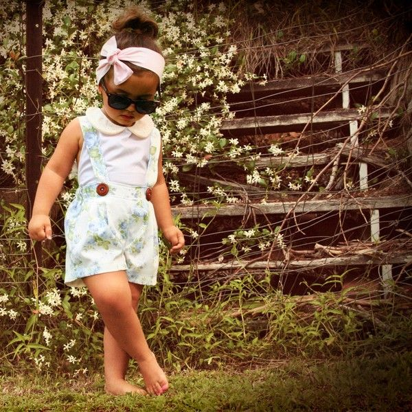 d1b8616b3 Cute Vintage-Inspired Kids' Clothes Collection By Lacey Lane | Kidsomania