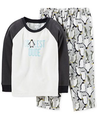 42dba81bccf2 Carter s Baby Boys  2-Piece Penguin Pajamas