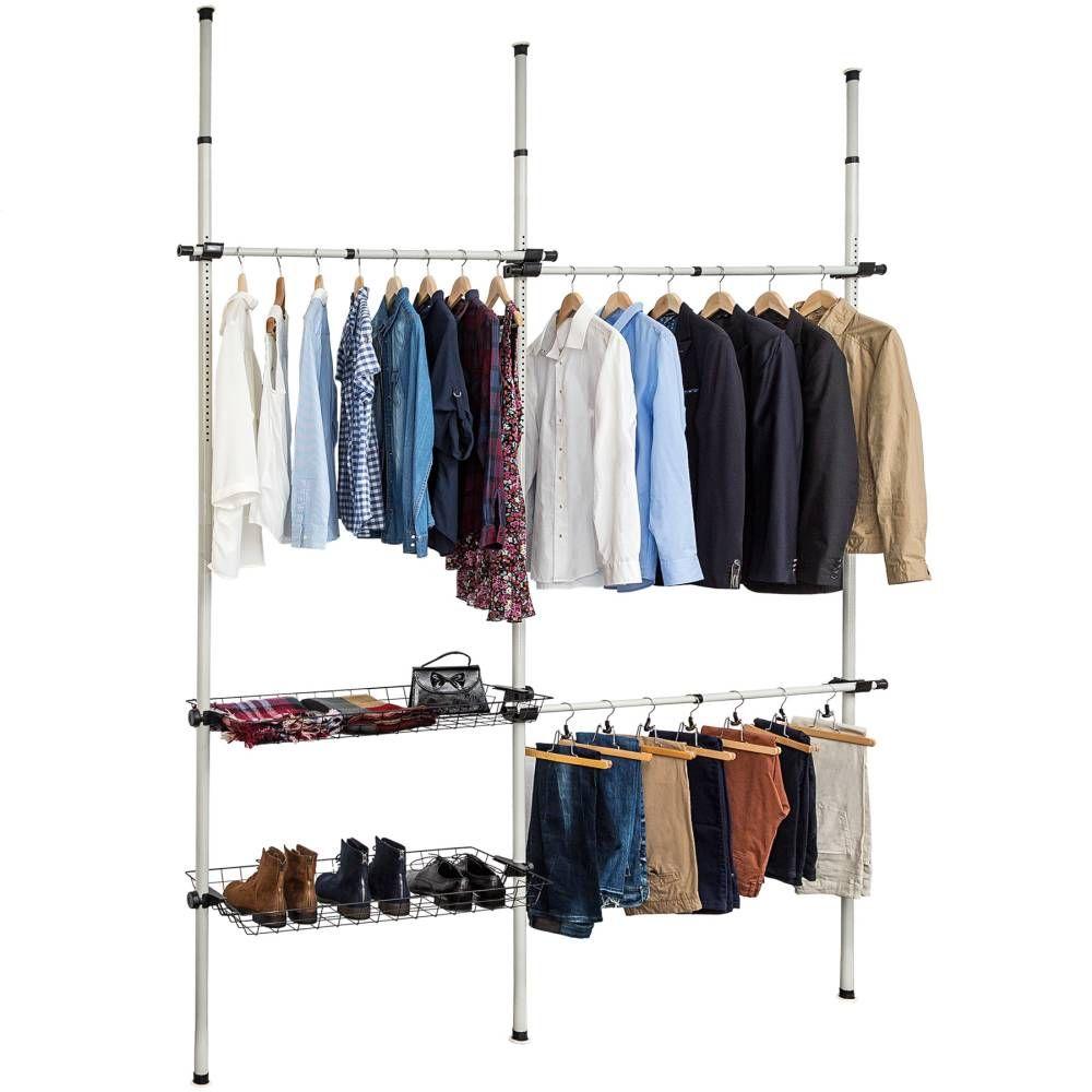 Teleskop Garderobensystem | Garderobensystem, Teleskop garderobe und ...