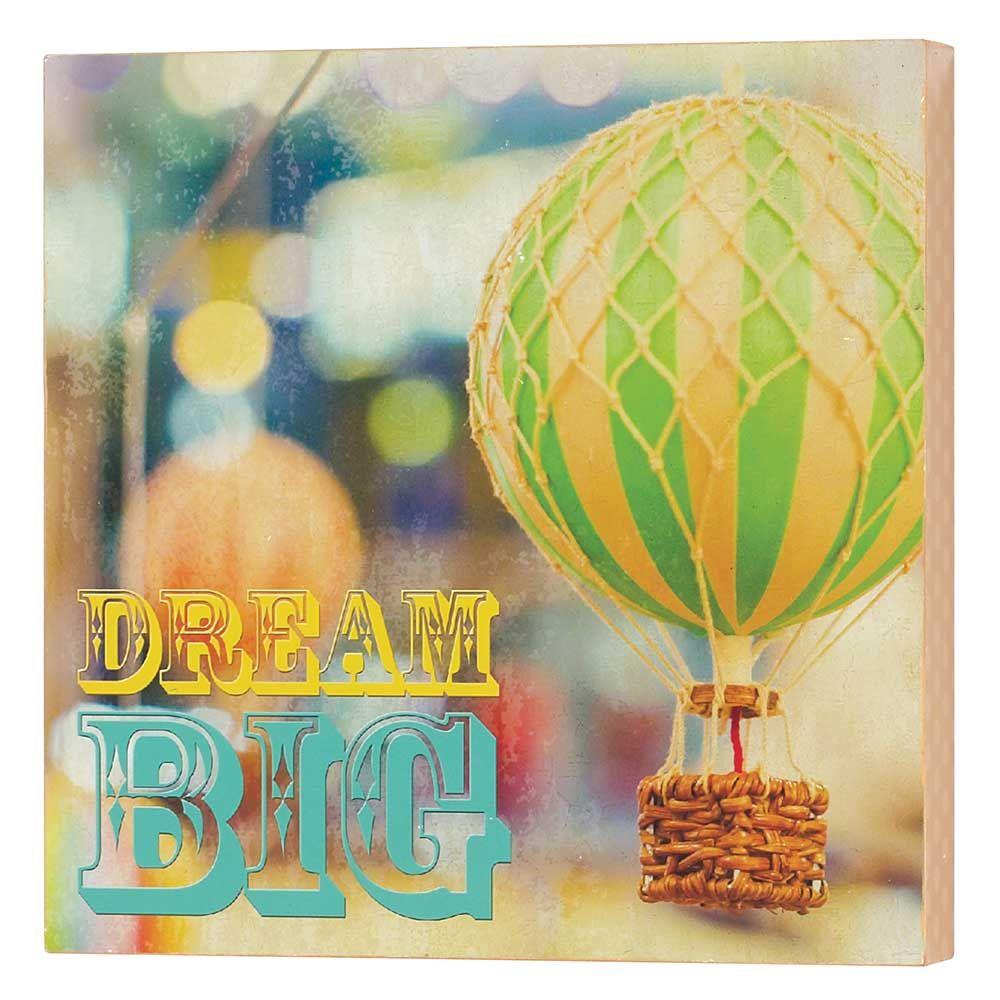 Jozie B - WALL DECOR MDF-10X10-DREAM BIG | #KidsRoom | Pinterest ...