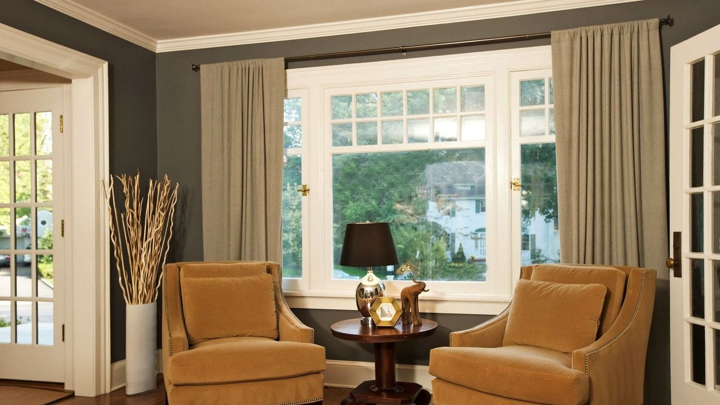 Curtains designs for big windows realtagfo pinterest
