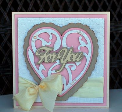 Fantabulous Cricut Challenge Blog: FCCB #197: I Heart You!