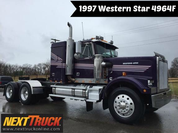Throwbackthursday Check Out This 1997 Western Star 4964f View More Westernstar Trucks At Http Www Nexttruckonline Trucks Western Star Trucks White Truck