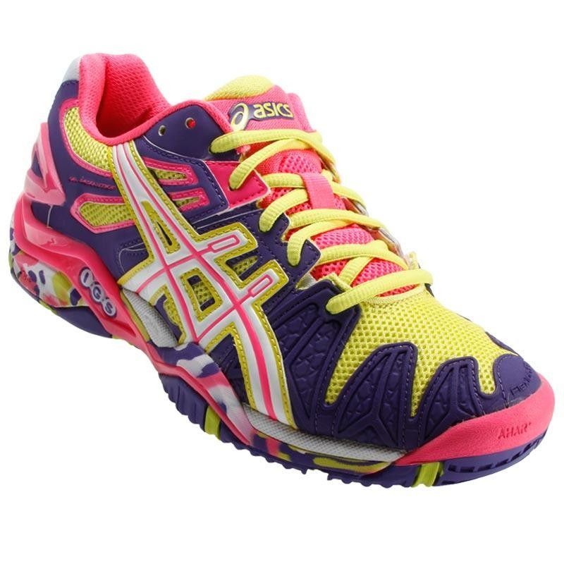 Tênis Asics Gel Resolution 5 2014 All Court Feminino - R ...