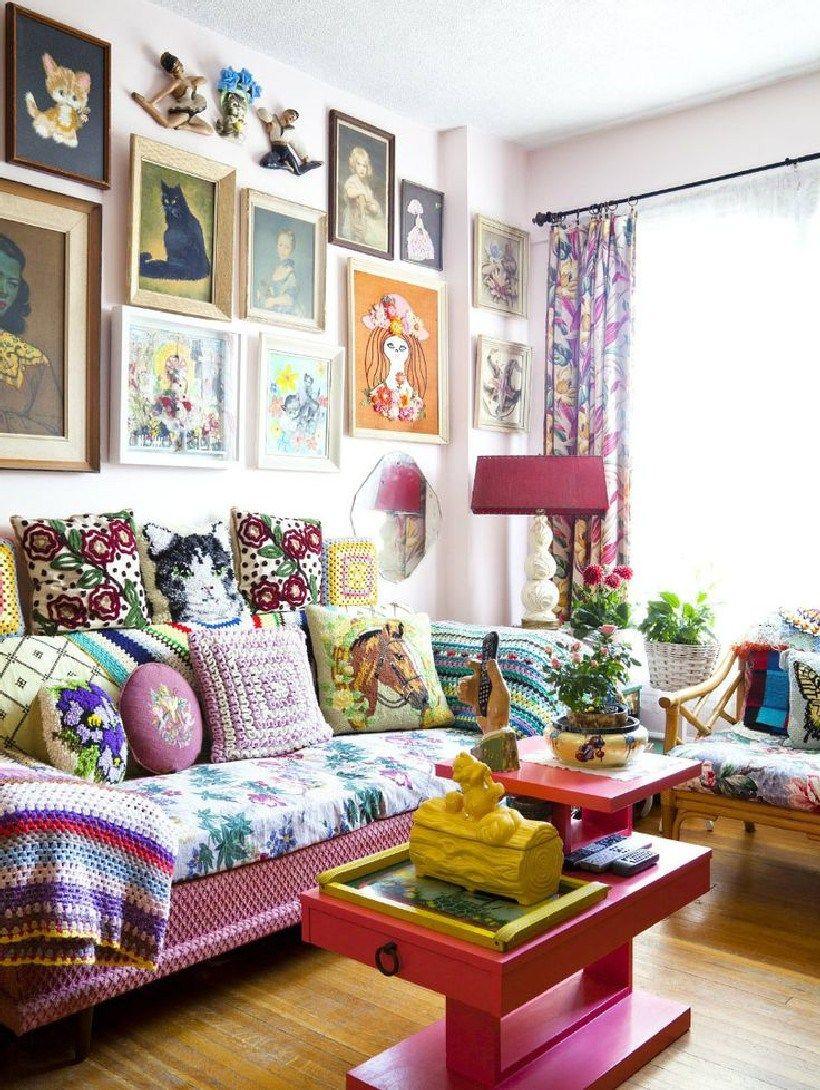 Top 10+ Beautiful Granny Chic Home Decor Ideas
