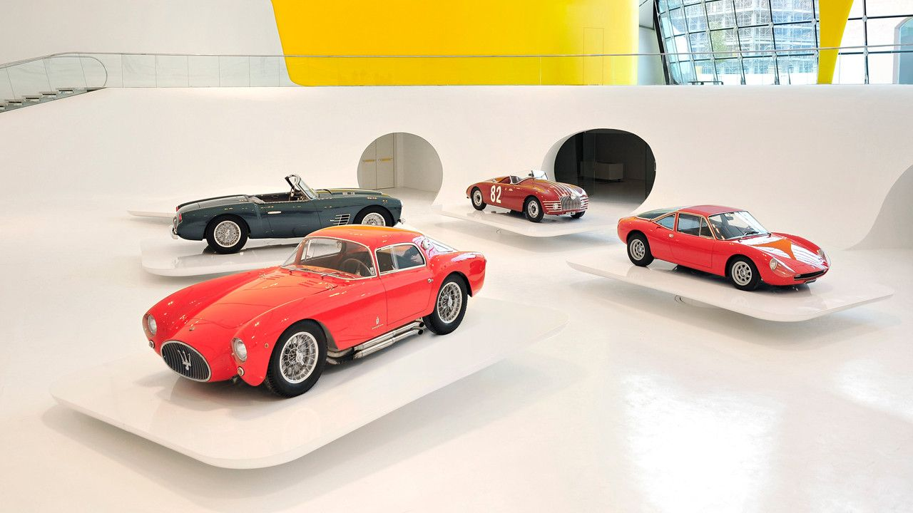 New Ferrari Museum Looks Like The Hood Of A Hot Car #newferrari