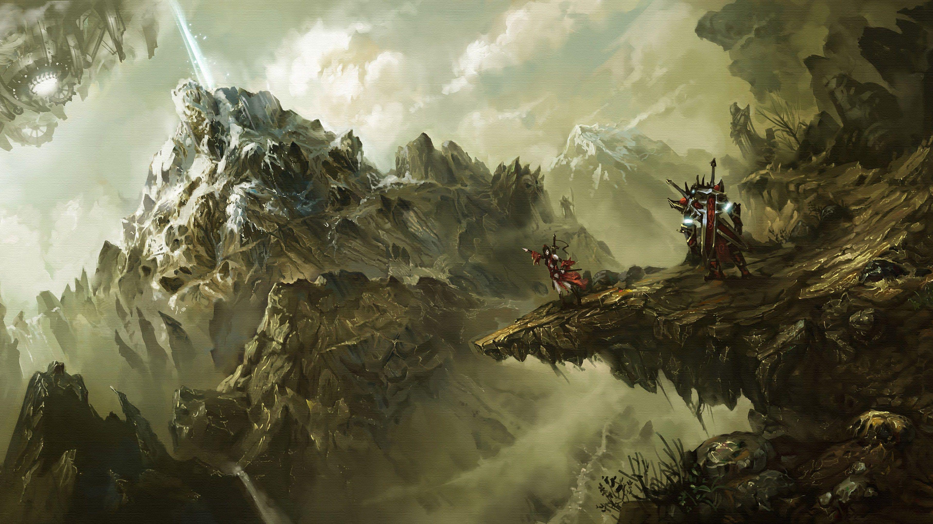 Mountains_Warrior Computer Wallpapers, Desktop Backgrounds