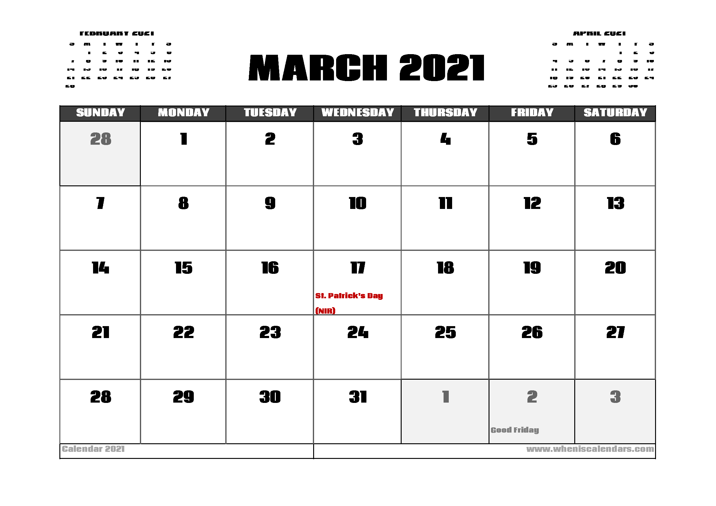 20+ 2021 Public Holidays - Free Download Printable ...