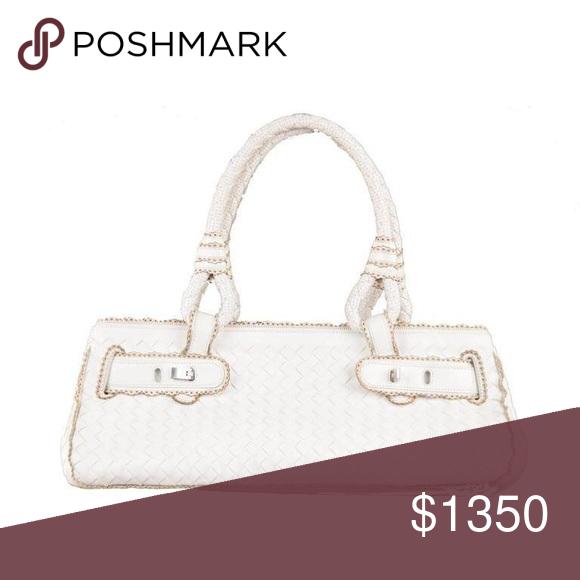 Bottega Veneta Woven Leather Handbag