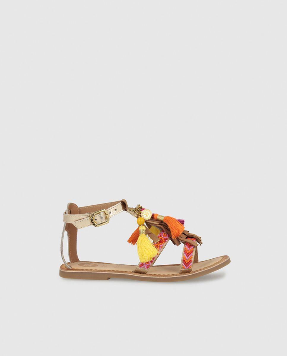 18fc627c2d4 Sandalias de niña de Gioseppo de serraje en color beige | teen ...