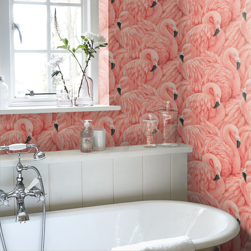 The Trendy Flamingo Decoration In Your Home 21 Pink Ideas For Your Interior Design Wallpaper Collection Zuhause Und Rosa Flamingos
