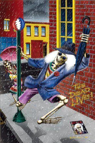 24x36 Poster Print The Dead Live by Gary Kroman Innerwallz http://www.amazon.com/dp/B007X4GCYE/ref=cm_sw_r_pi_dp_J0VZtb0ZF5N745VX