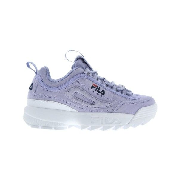 f0aa4afc807e Fila Disruptor II Premium Suede - Sweet Lavender ( 135) ❤ liked on Polyvore  featuring shoes