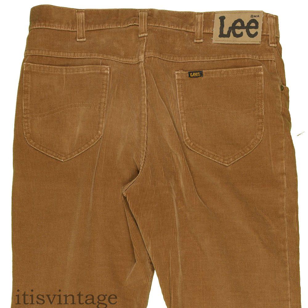 1d1cbb50 Lee Riders Corduroy Jeans Vintage Talon 42 Zipper USA Union Made Pants  36x32 #Lee #leeriders #corduroy #70s #80s #vintage #jeans #flare #bootcut  ...