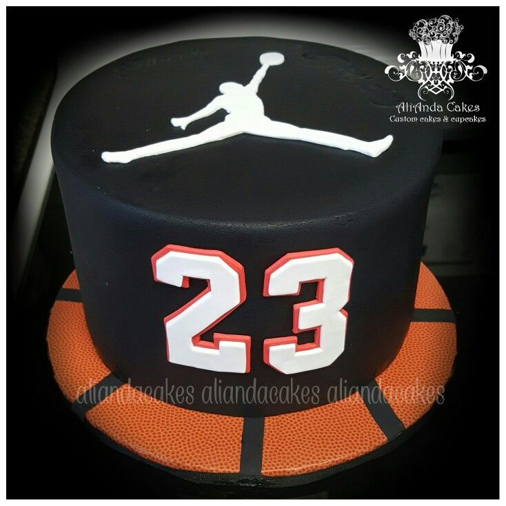 Michael Jordan cake Freddies party Pinterest Michael jordan