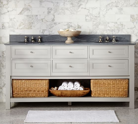 Classic 72 Double Sink Vanity Contemporary Living Room Furniture Bathroom Sink Vanity Vanity Sink