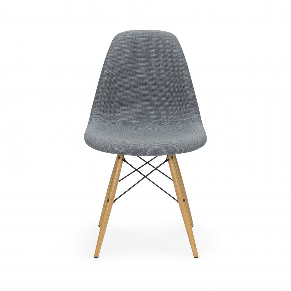Iconic Designs Grey Dsw Chair Fabric Upholstered Pantone 2015