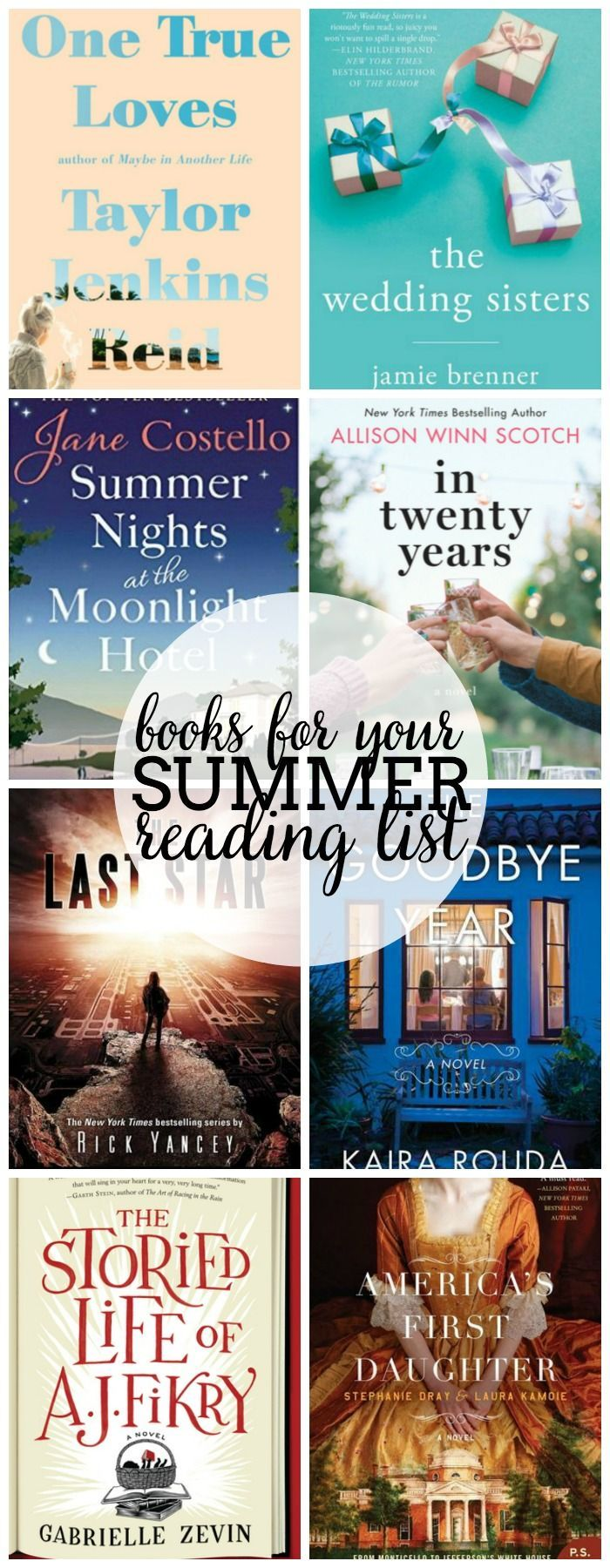 Looking for books to add to your Summer Reading List? I'm sharing 16 books I've added to my 2016 Summer Book List with a mix of romance, YA Lit, mysteries, and more! | The Love Nerds