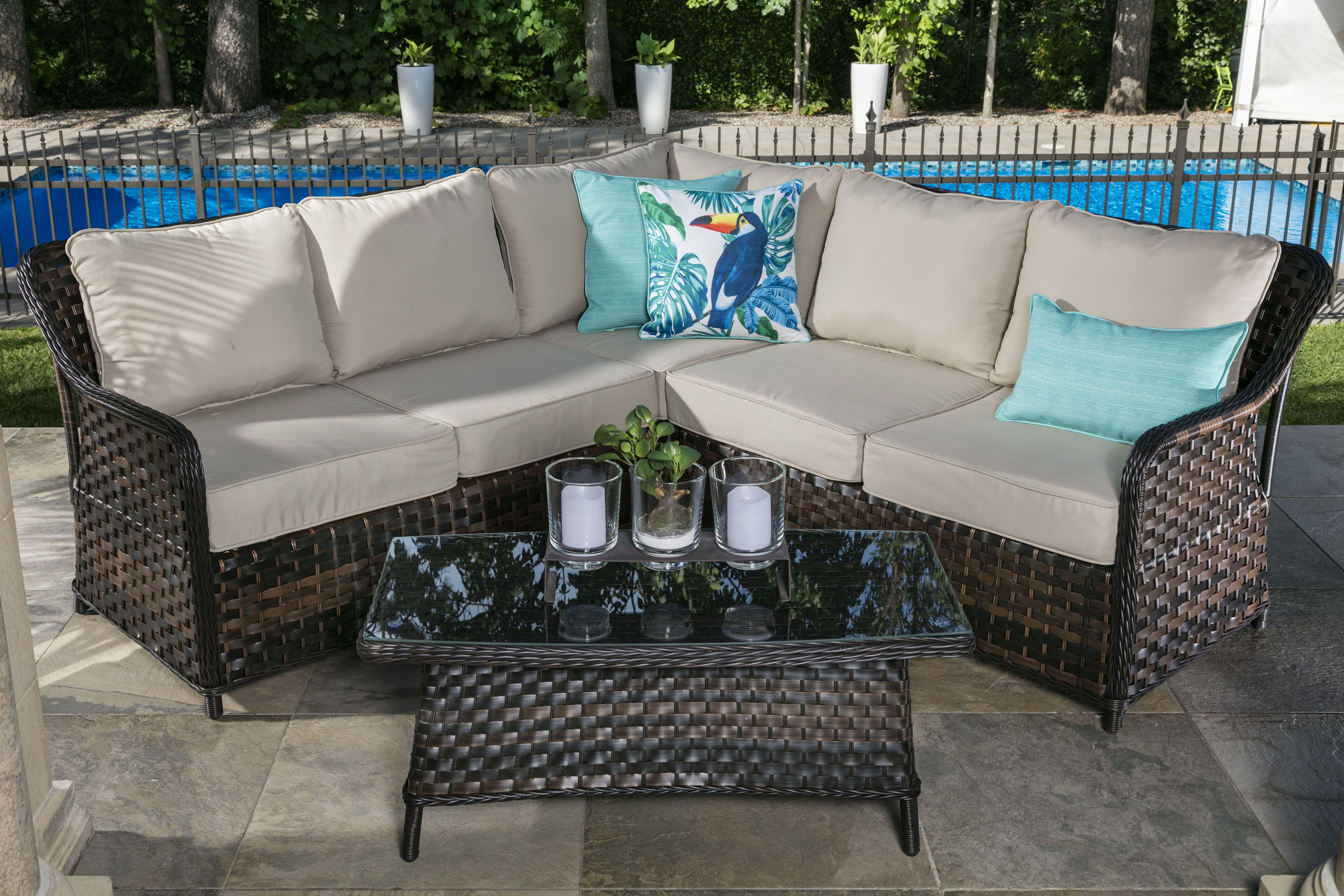 Sectionnel Exterieur Casa Sectional Outdoor Sectional Sofa Outdoor Decor