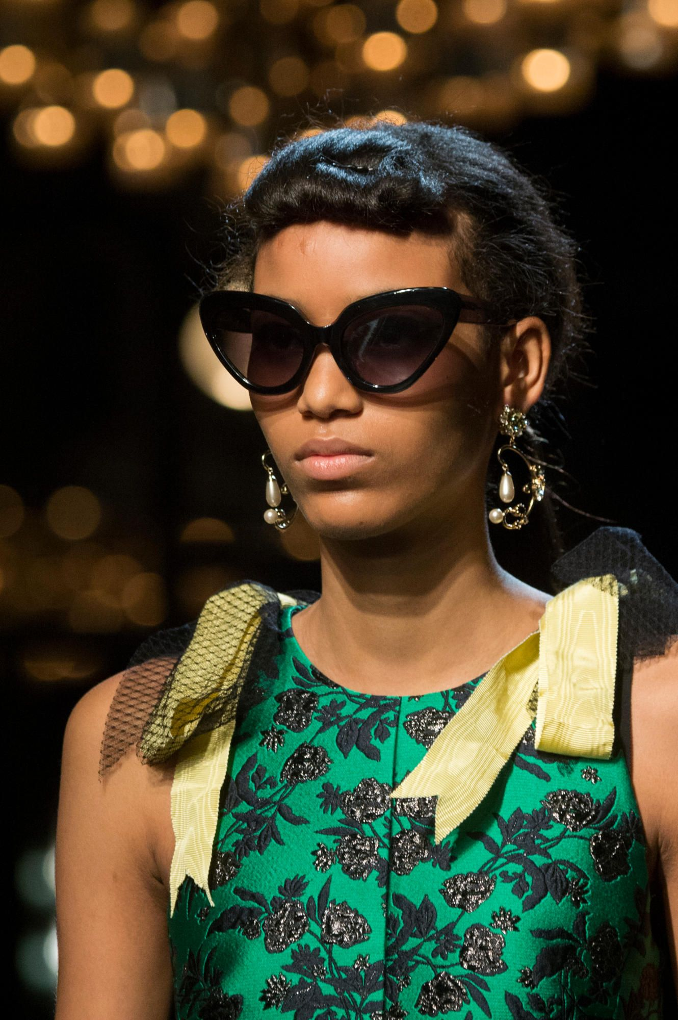 c43f93f758aa A look from Erdem s Spring 2018 collection. Photo  Imaxtree. A look from  Erdem s Spring 2018 collection. Photo  Imaxtree Trending Sunglasses