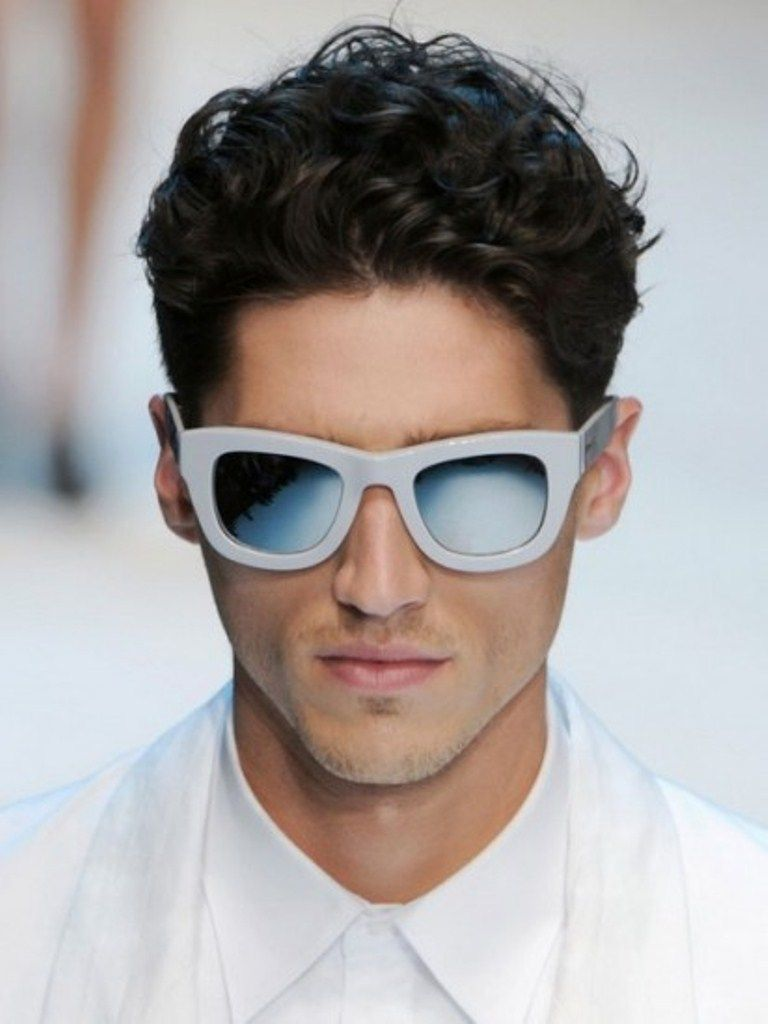 short hairstyles for men with thick curly hair | sexy mens fashion