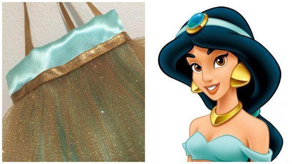 Princess Jasmine Party Favor Bags Disney Jasmine by TitasBoutique