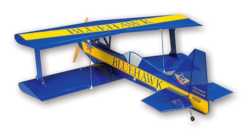 SIG ULTIMATE BI-PLANE KIT The SIG Ultimate fun fly was