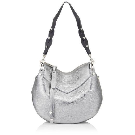 b27377f47a JIMMY CHOO . #jimmychoo #bags #shoulder bags #leather #lace ...