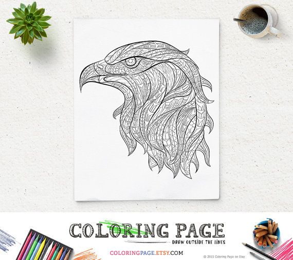 mighty eagle coloring pages - photo#31