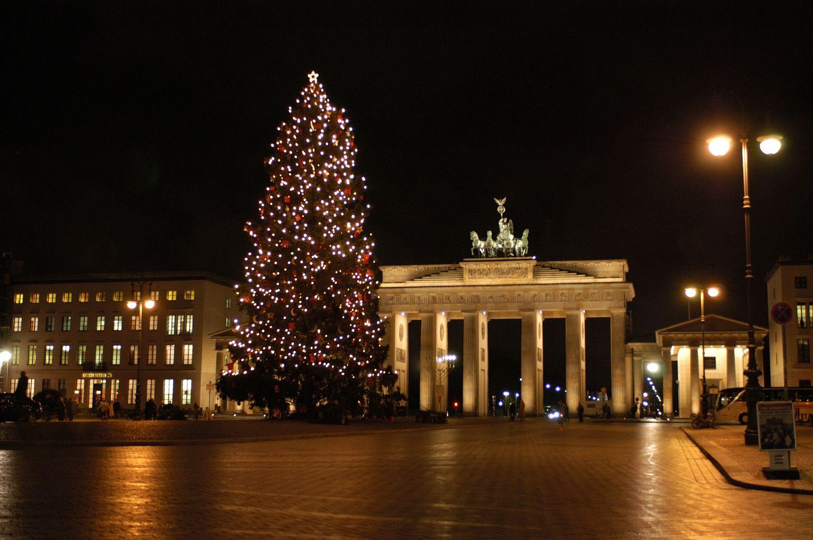 Christmas In Berlin Brandenburger Tor Brandenburger Tor Adventszeit Tor