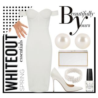 Polyvore Contest: Spring Whiteout