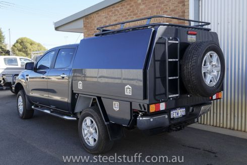 Dual Cab Ranger Canopy Body 1 Of 6 Ute Canopy Ford Ranger Canopy
