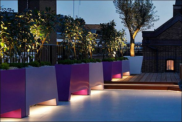 contemporary landscape lighting. contemporary landscape designers for your garden terraces lighting